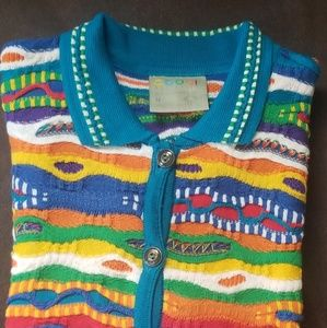 Vintage button down COOGI sweater